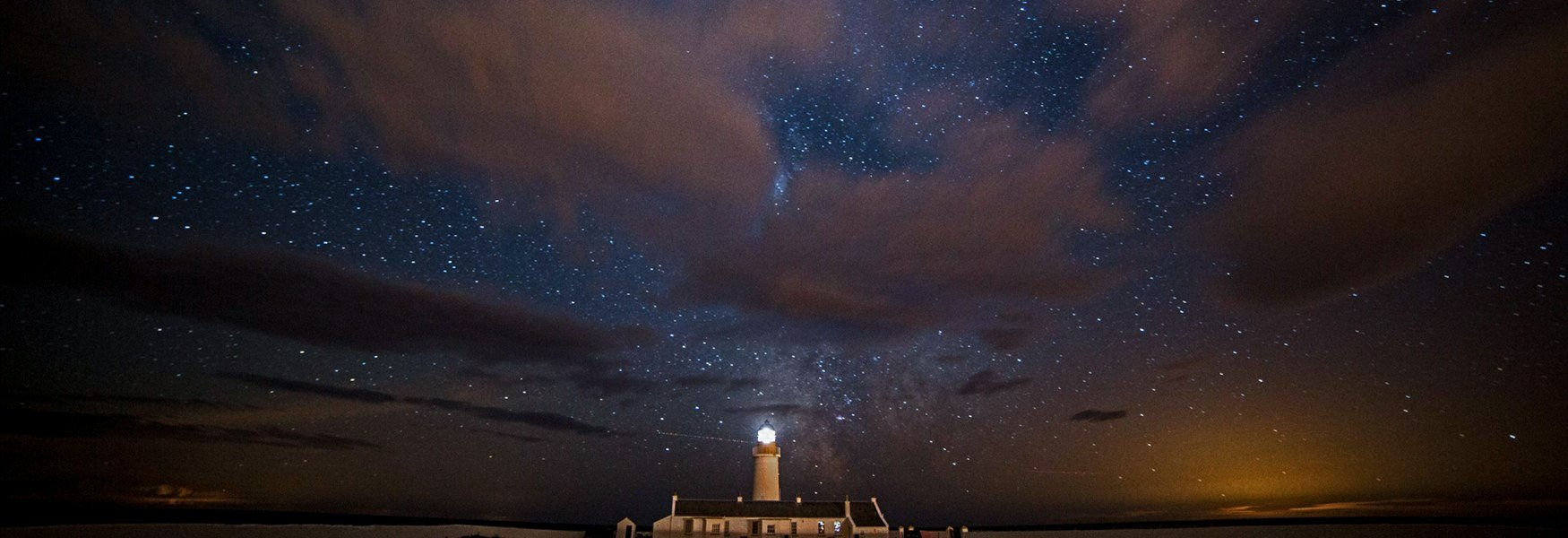 Dark sky site Langness Isle of Man.