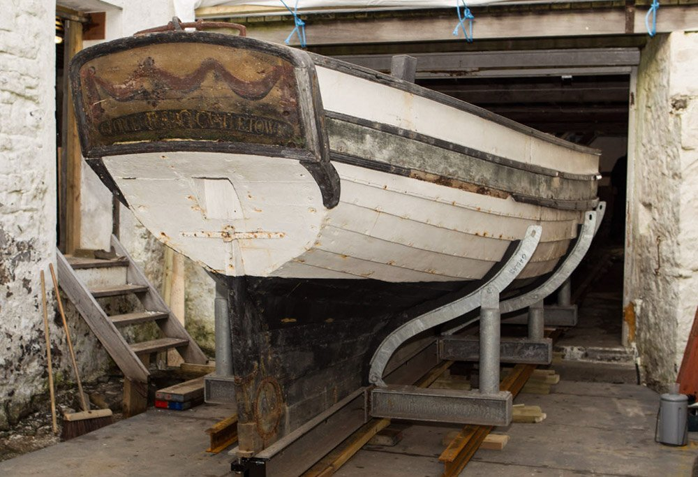 Oldest surviving boat found in the Isle of Man.