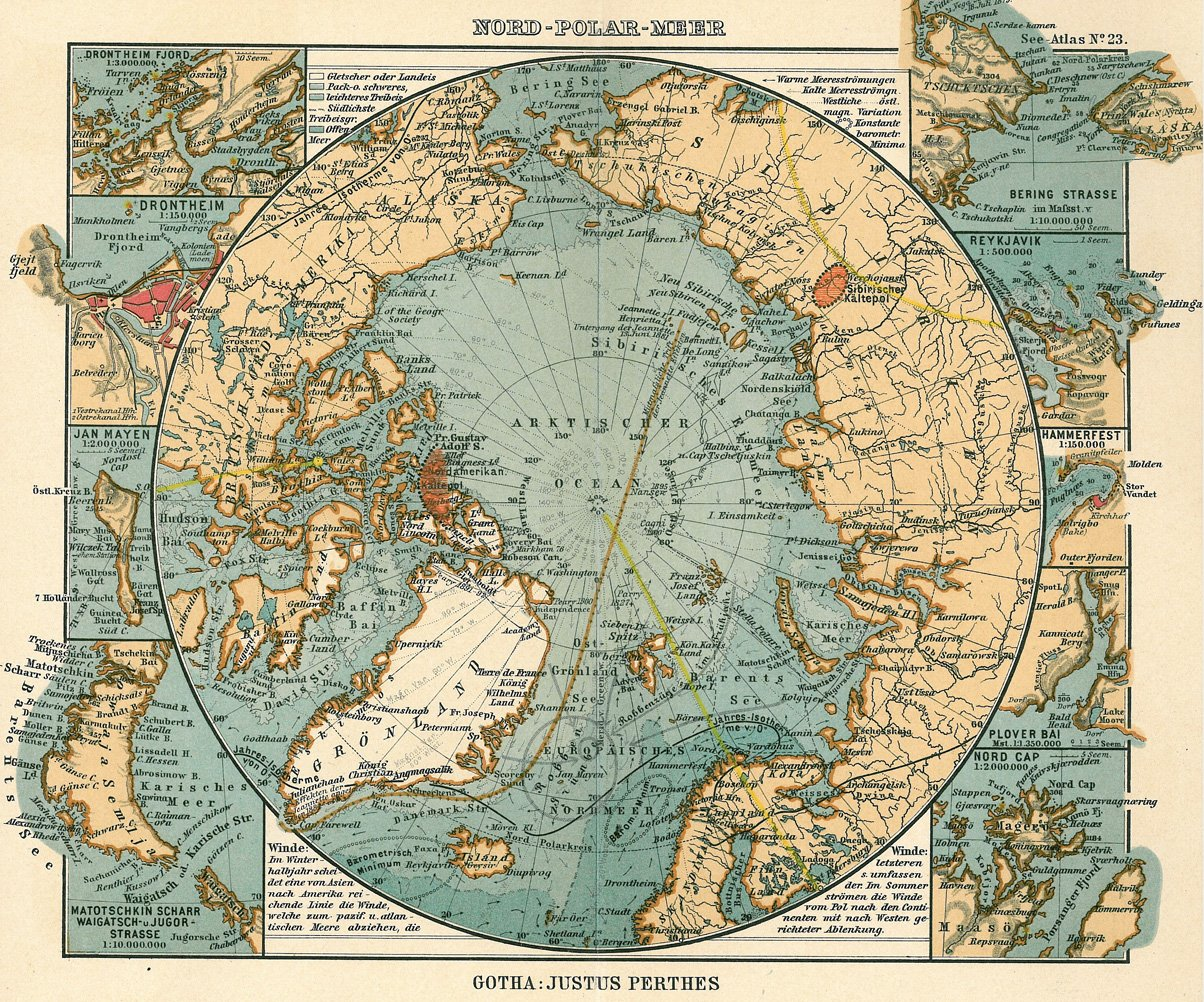 map of the arctic circle