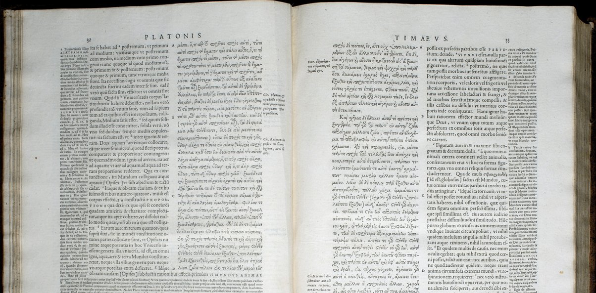 Original Atlantis book Timaeus