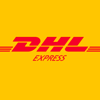 DHL express map shipping