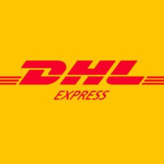 DHL express map shipping