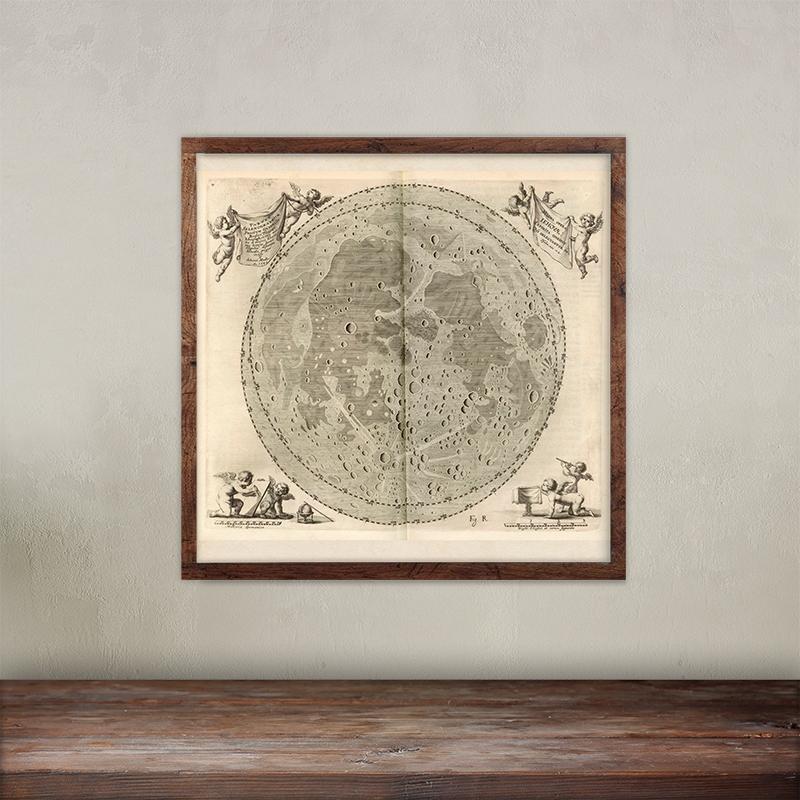 Buy Johannes Hevelius Selenographia image print.