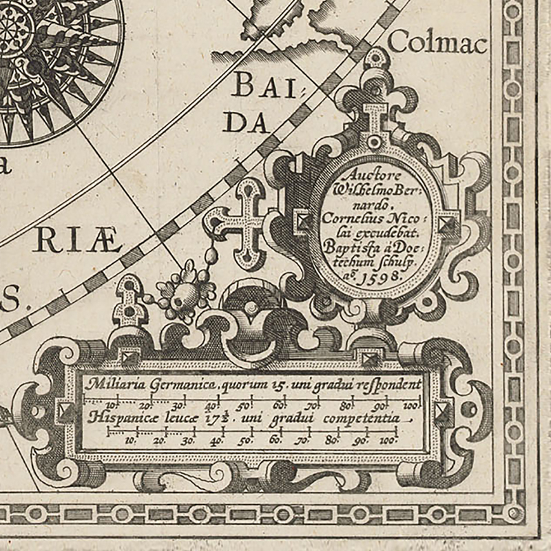 Buy Barentzs map of Strete of Anian.